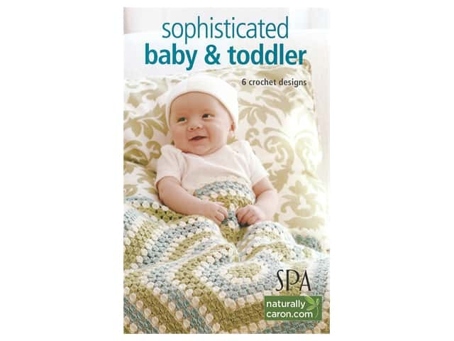 Leisure Arts Sophisticated Babies & Toddlers Crochet Book