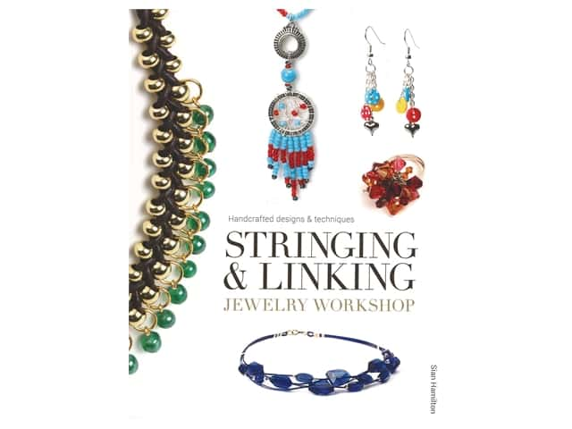 Guild Of Master Craftsman Publications Stringing & Linking Jewelry Workshop Book