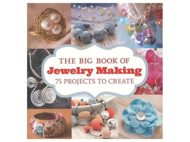 Guild Of Master Craftsman Publications The Big Book of Jewelry Making 75 Projects to Create Book