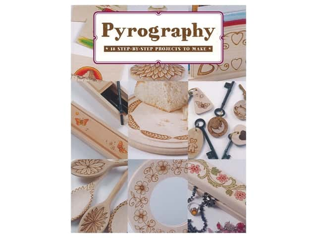 Guild of Master Craftsman Publishing Pyrography Book
