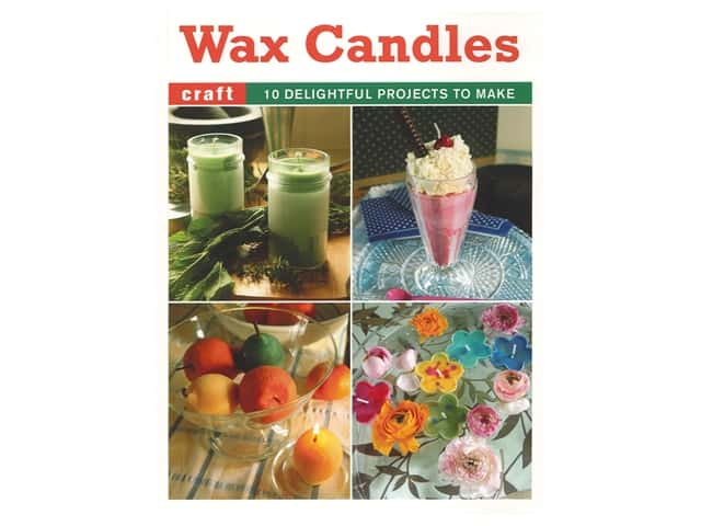 Guild of Master Craftsman Publications Wax Candles Book