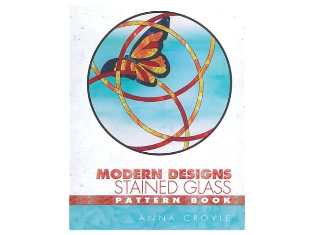 Dover Modern Designs Stained Glass Patterns Book