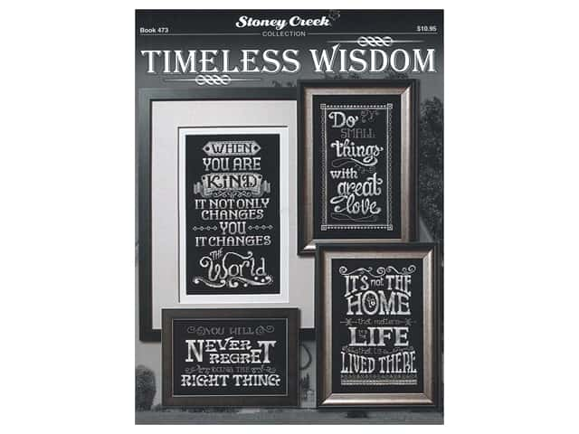 Stoney Creek Timeless Wisdom Cross Stitch Book