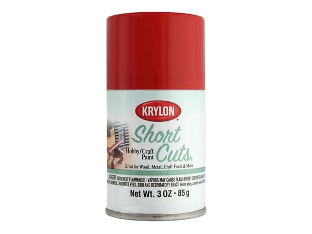 Krylon Shortcuts Aerosol Paints 3 oz. Red Pepper