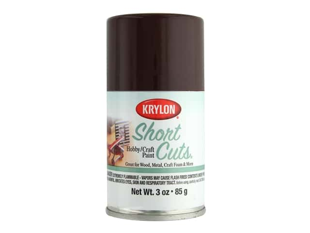 Krylon Shortcuts Aerosol Paints 3 oz. Espresso