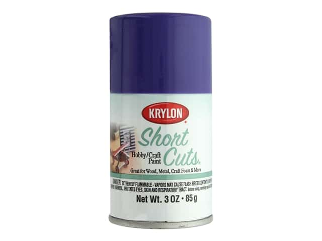 Krylon Shortcuts Aerosol Paints 3 oz. Iris