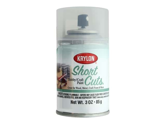 Krylon Shortcuts Aerosol Paints 3 oz. Clear Gloss