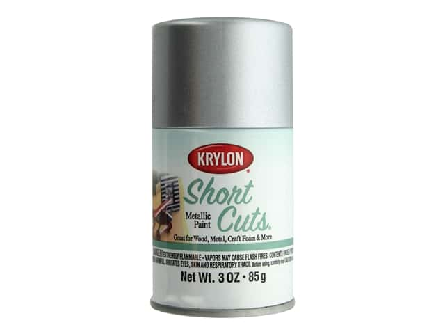Krylon Shortcuts Aerosol Paints 3 oz. Chrome