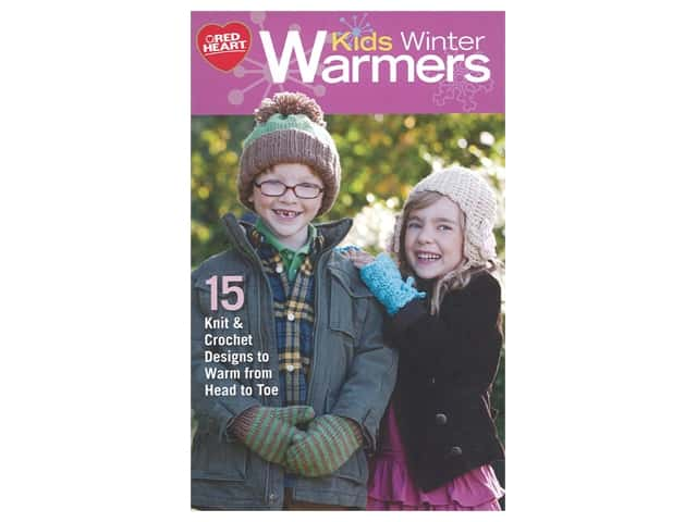 Coats & Clark Kids Winter Warmers Knit Book