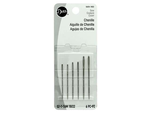 Dritz Chenille Needles Size 18/22 6 pc.