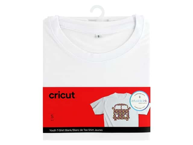 Cricut Infusible Ink Blank T Shirt Round Neck Youth Small
