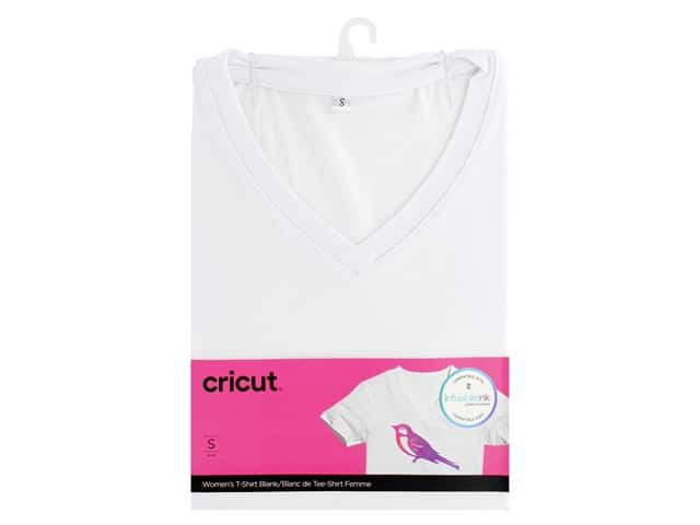 Cricut Infusible Ink Blank T Shirt V Neck Women's Small