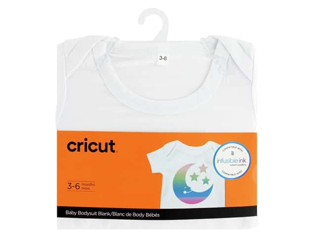 Cricut Infusible Ink Blank Body Suit Baby 3-6 Months