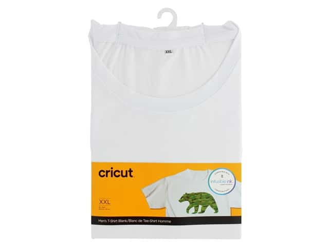Cricut Infusible Ink Blank T Shirt Round Neck Men's XXLarge