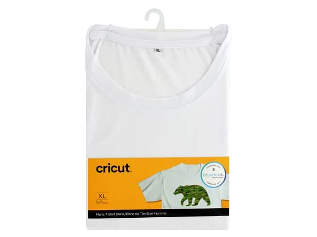 Cricut Infusible Ink Blank T Shirt Round Neck Men's XLarge