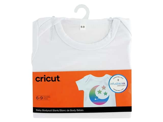 Cricut Infusible Ink Blank Body Suit Baby 6-9 Months