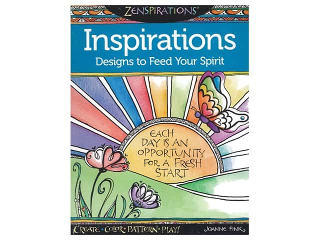 Design Originals Zenspirations Inspirations Coloring Book