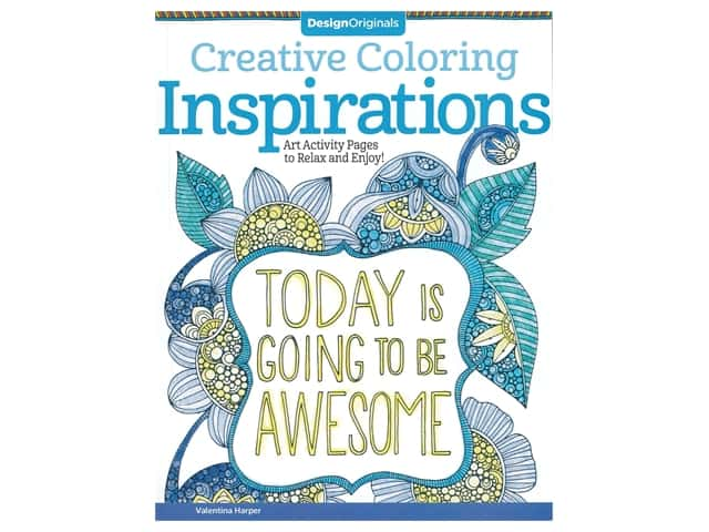 Design Originals Inspirations Creative Coloring Book