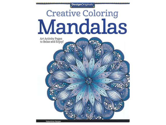 Design Originals Mandalas Creative Coloring Book