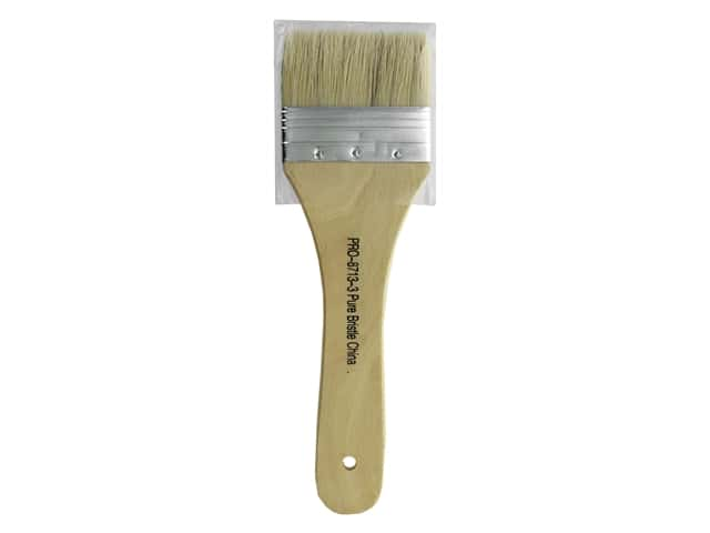Pro Art Brush Bristle Wash 3 in. x 1.5 in.
