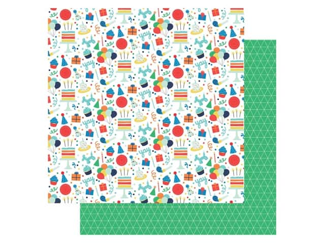 Echo Park Its Your Birthday Boy Collection Paper 12 in. x 12 in. Fun