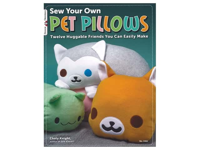 Design Originals Sew Your Own Pet Pillows Book