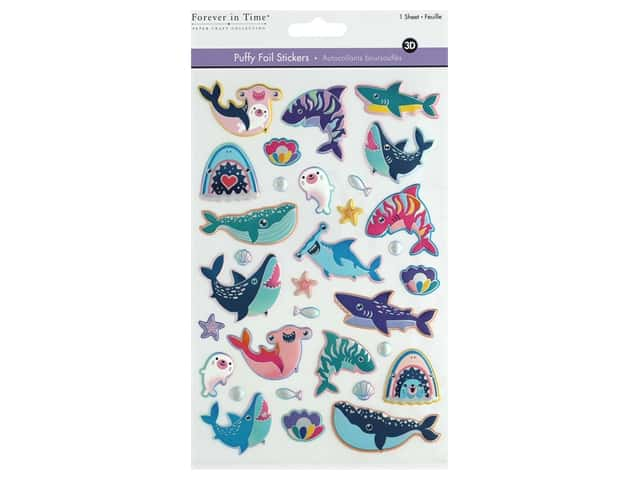Multicraft Sticker Foil Puffy Shark Week