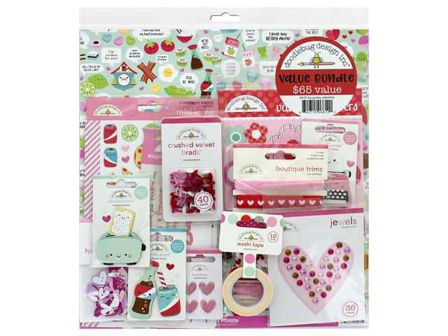 Doodlebug Love Notes Value Bundle My Punny Valentine