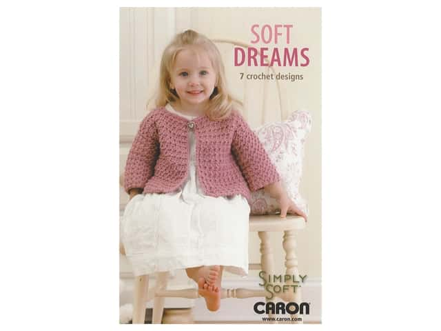 Leisure Arts Soft Dreams 7 Crochet Designs Book