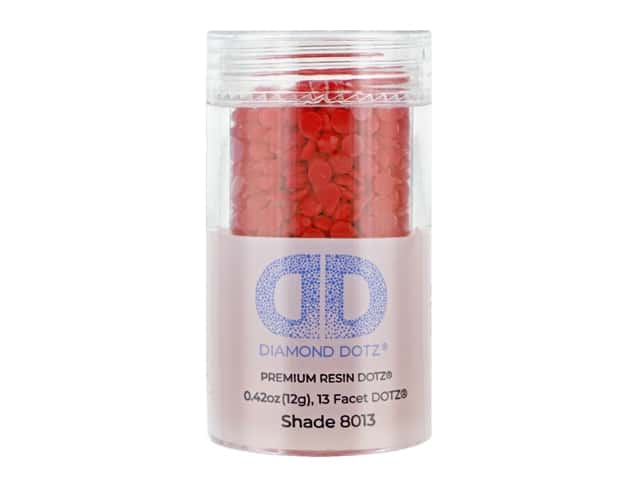 Diamond Dotz Freestyle Gems 0.43 oz. #8013 Scarlet