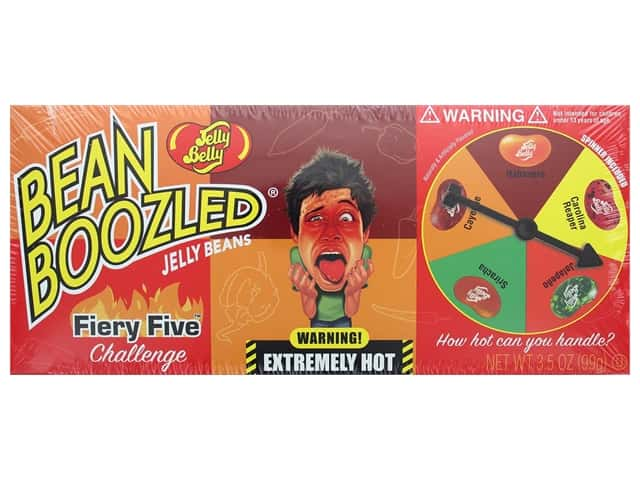 Jelly Belly Jelly Beans 3.5oz Bean Boozled Fiery Five Spinner Box
