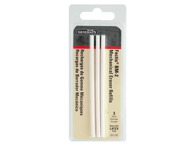 General's Factis Eraser Pen Refills 3 pc