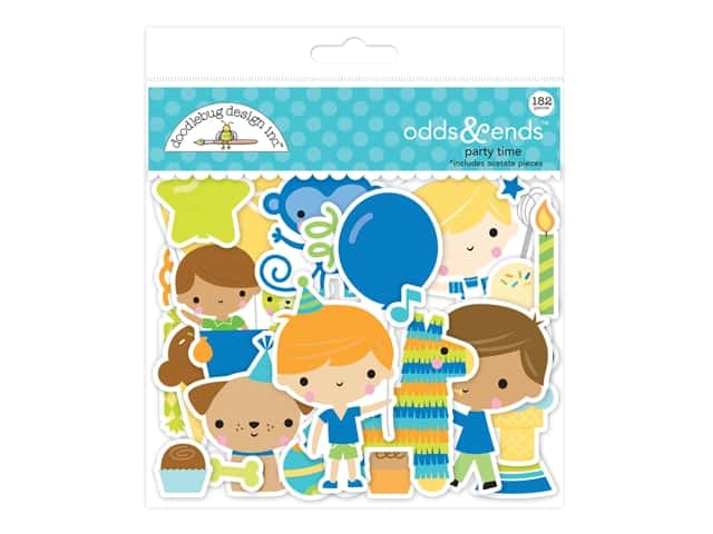 Doodlebug Party Time Odds & Ends