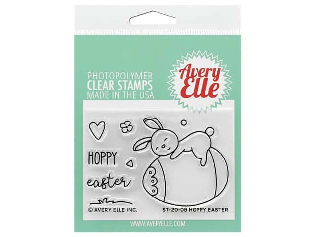 Avery Elle Clear Stamp Hoppy Easter
