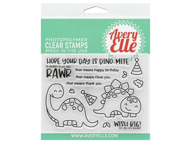 Avery Elle Clear Stamp Rawr