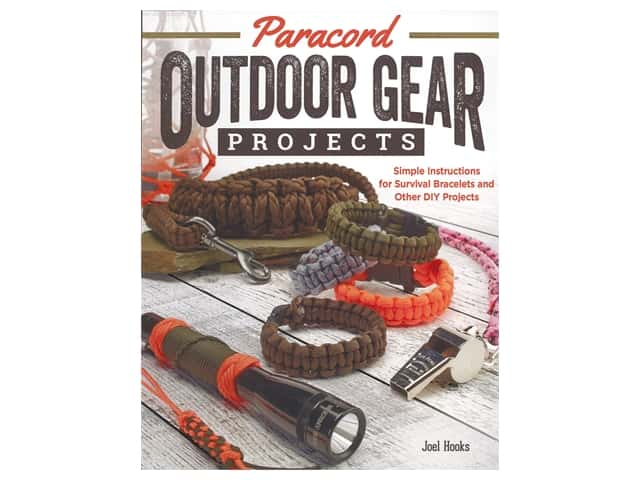 Fox Chapel Publishing Paracord Outdoor Gear Projects Book