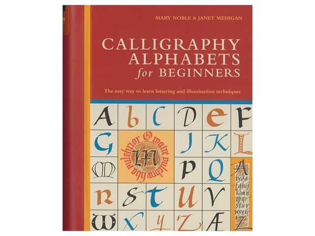 Barrons Calligraphy Alphabets For Beginners Book