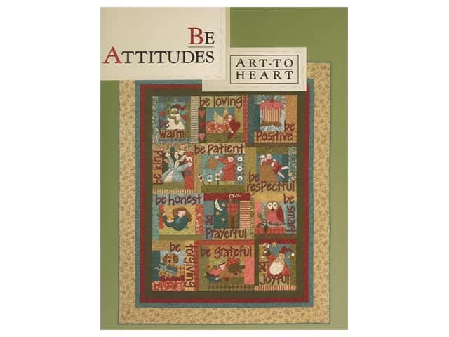 Art To Heart Be Attitudes Book