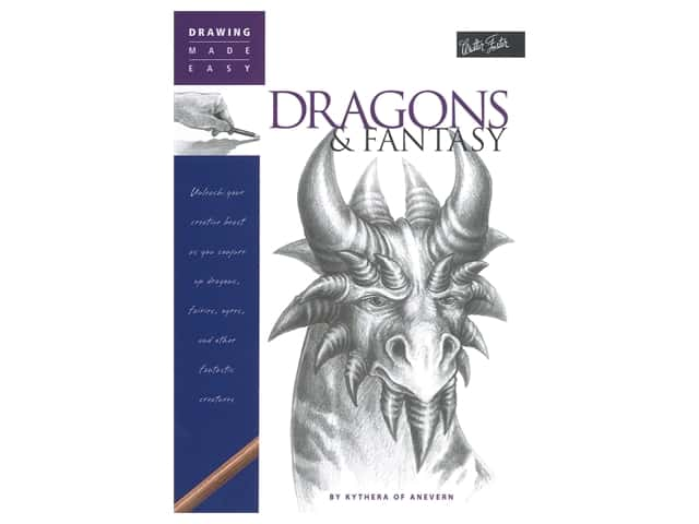Walter Foster Drawing Made Easy Dragons & Fantasy Book