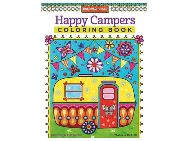 Design Originals Happy Camper Coloring Book