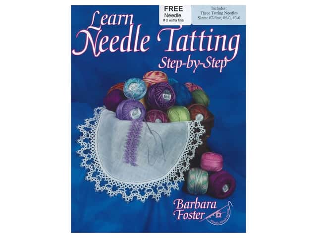 Handy Hands Learn Needle Tatting Step By Step Needles & Book