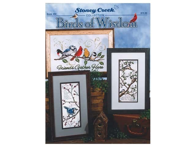 Stoney Creek Birds of Wisdom Cross Stitch Book