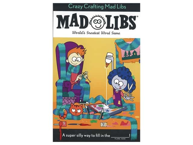 Price Stern Sloan Crazy Crafting Mad Libs Book