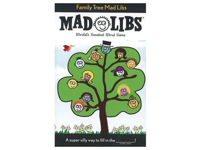Price Stern Sloan Family Tree Mad Libs Book