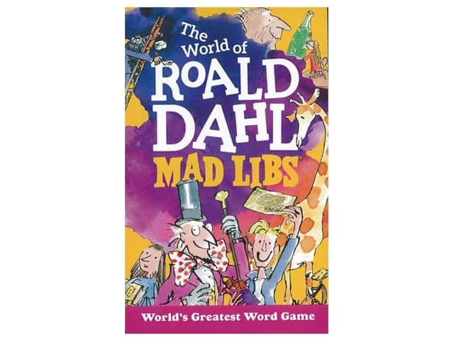 Price Stern Sloan World Of Roald Dahl Mad Libs Book