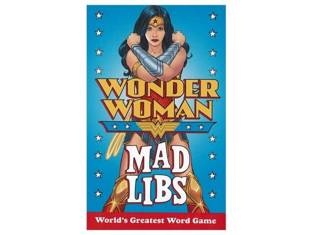 Price Stern Sloan Wonder Woman Mad Libs Book