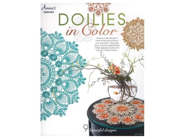 Annie's Crochet Doilies In Color Book