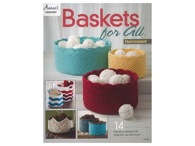 Annie's Crochet Baskets For All Book