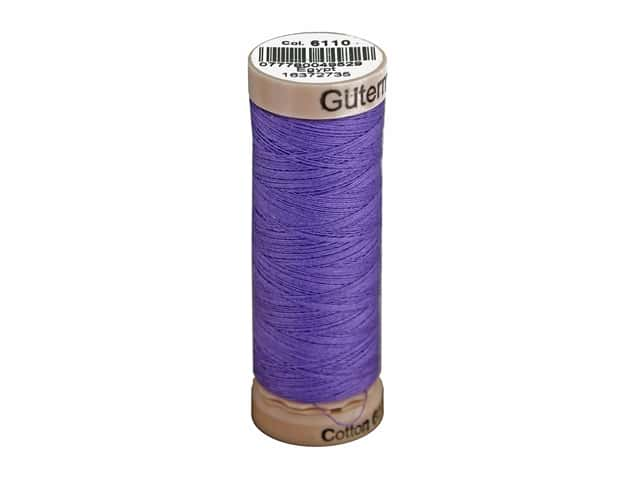 Gutermann Natural Cotton Sewing Thread 60 wt. 273 yd. #6110 Purple