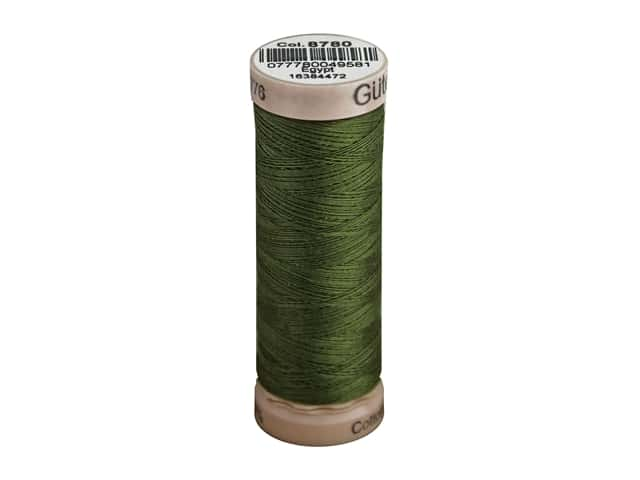 Gutermann Natural Cotton Sewing Thread 60 wt. 273 yd. #8780 Bronze